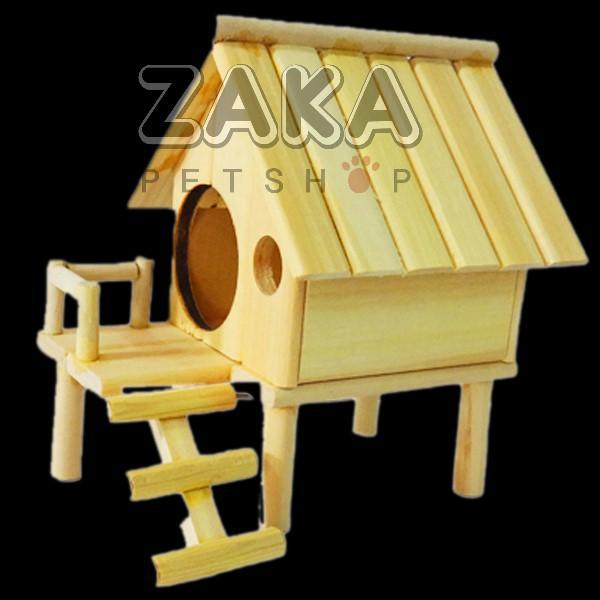 Nhà sàn gỗ tây nguyên Hamster
