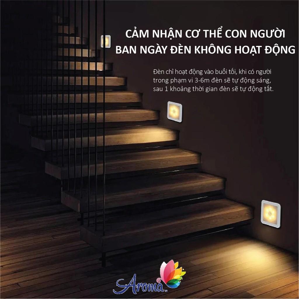 Đèn cảm ứng, cảm biến chuyển động dán lối đi cầu thang, tủ quần áo, phòng ngủ QL-03