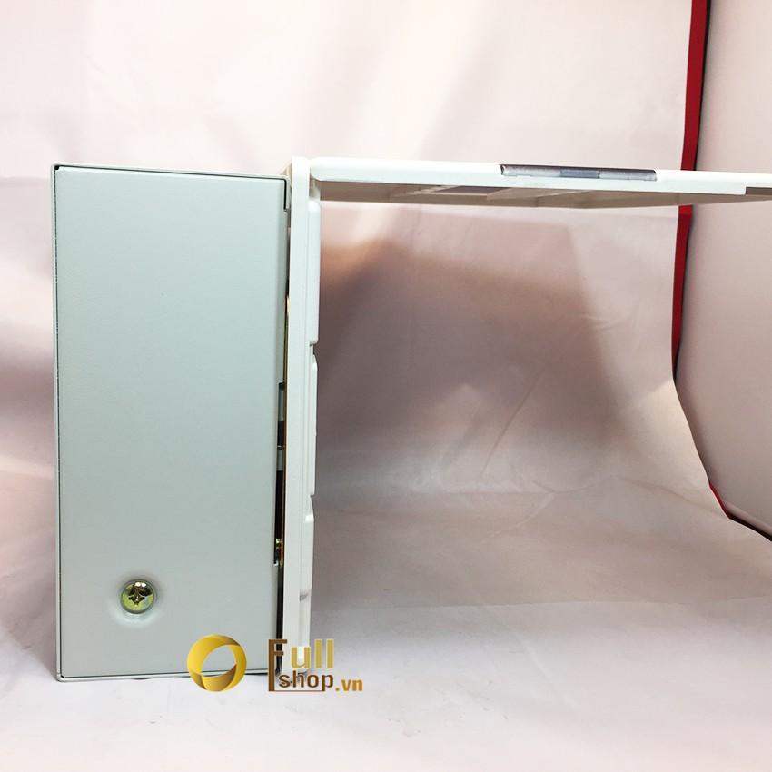 Tủ điện âm tường Simon 9 aptomat kính trong suốt SMX68S-9A