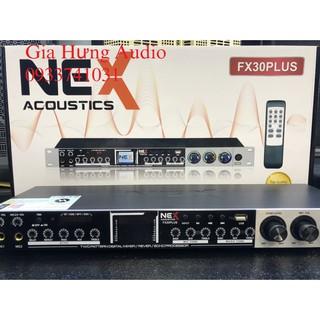 Vang cơ Karaoke, vang cơ Nex FX30plus có remote điều khiển- New 2021 thumbnail