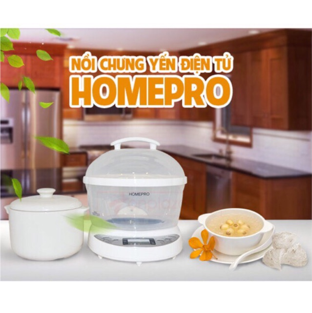 Nồi chưng yến đa năng Homepro HP7M - chính hãng
