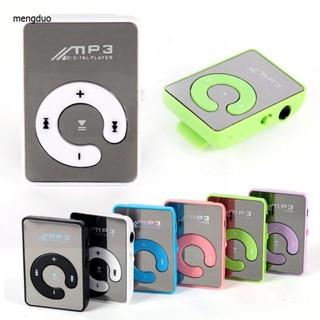 MD Máy nghe nhạc MP3 kẹp áo hỗ trợ thẻ nhớ SD TF thumbnail