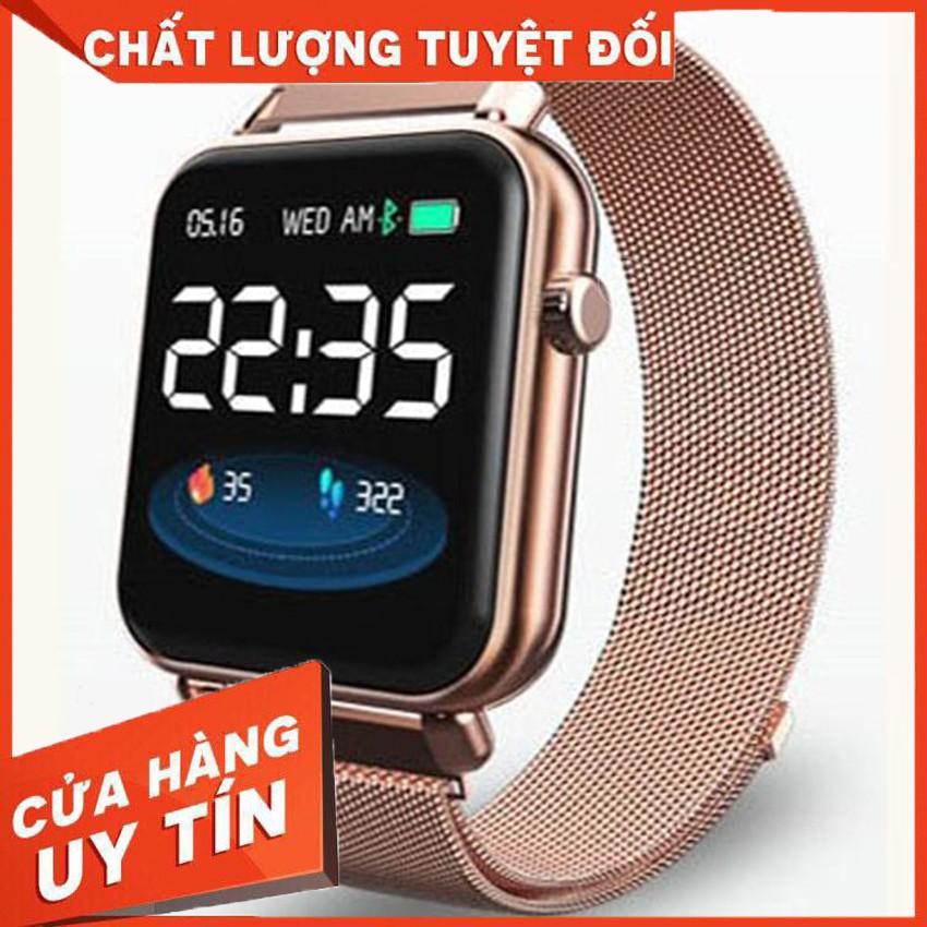Đồng Hồ Thông Minh Z9 Pro - smartwatch pin trâu khủng 5-10 ngày, chống nước tốt dây thép sang trọng mà giá rẻ cho nam nữ | Shopee Việt Nam