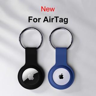 Apple Vỏ Bảo Vệ Hộp Sạc Tai Nghe Airpods Bằng Silicon Mềm Chống Thất Lạc Kèm Móc Khóa Tiện Dụng