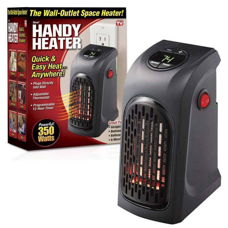 Máy sưởi ấm có chế độ hẹn giờ Handy Heater cao cấp tiết kiệm điện an toàn [MÁY SƯỞI VUÔNG]