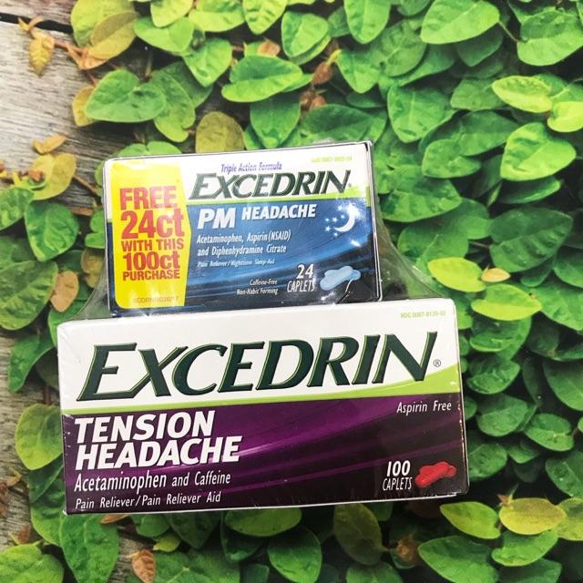 thuốc đau nửa đầu Excedrin