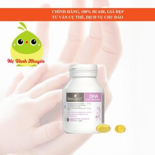 DHA bầu Bioisland DHA for Pregnancy, Úc (60v) thumbnail