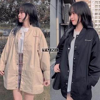 Yêu Thích[Mã WAMS11 hoàn 20% xu đơn 99k] Áo khoác jacket kaki WIN ulzzang (ẢNH THẬT)