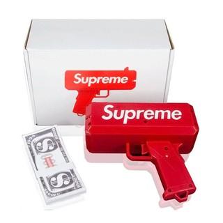 Bộ đồ chơi súng bắn ra tiền Supreme + 01 xấp tiền