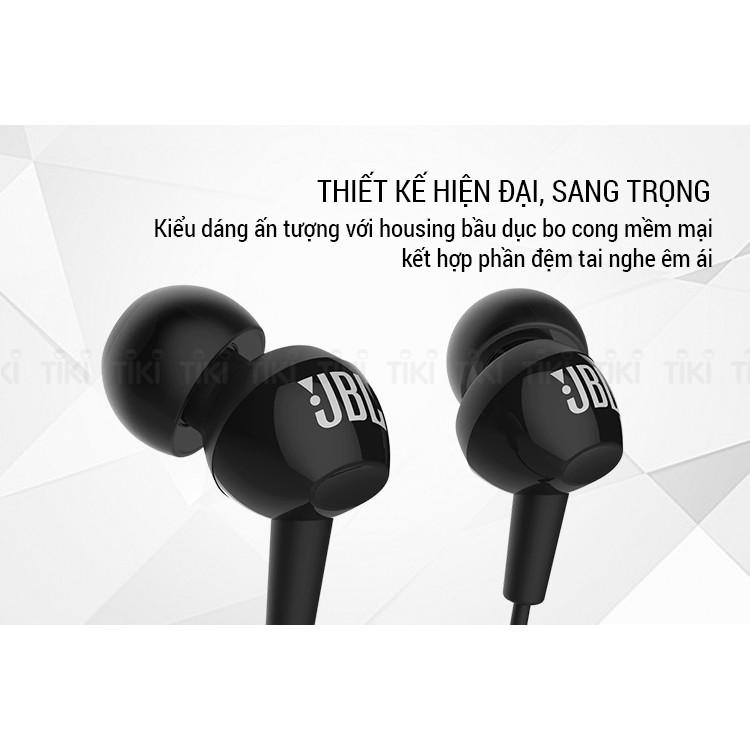 Tai nghe nhét tai JBL C150Si - Hàng chính hãng, nguyên seal PGI