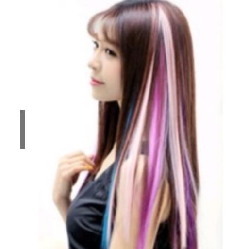 Sỉ tóc nối nhiều màu light