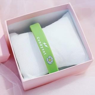 Vòng đeo tay Cadycat VTHC05 cao su họa tiết Hoa Cúc tuyệt đẹp 3
