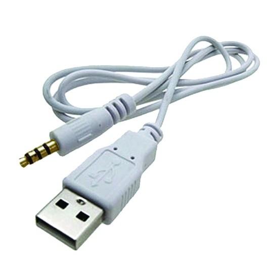 Cable chuyển từ jack 3.5 sang đầu USB