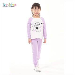 Đồ bộ Beddep Kids Clothes chất thun in hình cho bé gái từ 1 đến 8 tuổi G11 thumbnail