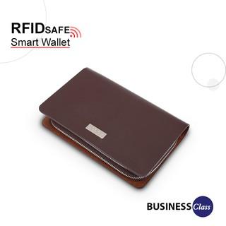 Ví cầm tay phom chữ nhật unisex bảo vệ an toàn thông tin thẻ ngân hàng IDIGO MW2-502-00 thumbnail