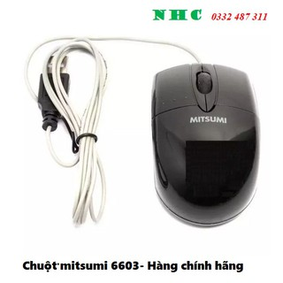 Chuột máy tính nhỏ siêu xinh có dây MITSUMI S6603 - Hàng chính hãng phân phối thumbnail