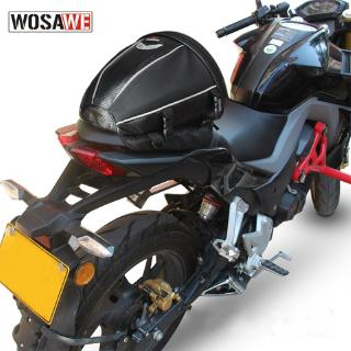 Bình xăng xe máy phía sau túi ngồi microfiber da đa chức năng chống thấm nước