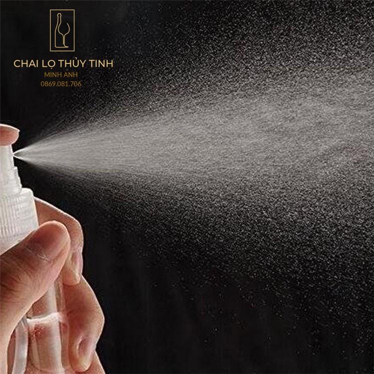 🌏 { Bán Buôn/Bán Sỉ} 🌏  Chai Nhựa Xịt Phun Sương 50ml/100ml - chai lọ chiết mỹ phẩm/Lọ chiết nước hoa