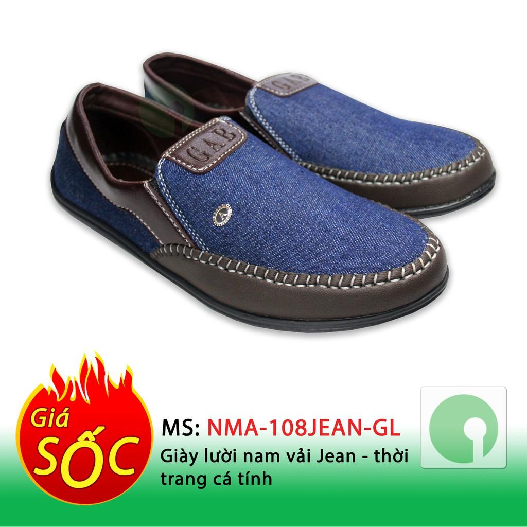 Giày nam thời trang giá rẻ - cá tính - kiểu dáng mới nhất với vải Jean - NMA-108JEAN-GL (Xanh Jean) - 9994148 , 645416366 , 322_645416366 , 300000 , Giay-nam-thoi-trang-gia-re-ca-tinh-kieu-dang-moi-nhat-voi-vai-Jean-NMA-108JEAN-GL-Xanh-Jean-322_645416366 , shopee.vn , Giày nam thời trang giá rẻ - cá tính - kiểu dáng mới nhất với vải Jean - NMA-108JEA