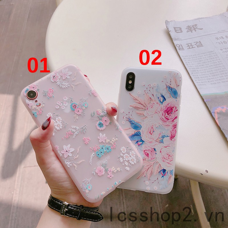 TPU Back casing Snap-on Case iPhone 6 7 8 X XS XR XSMax Non