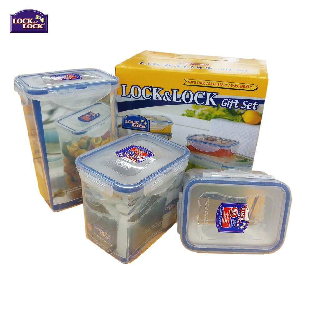 Bộ 03 hộp nhựa Lock&Lock HPL809S3