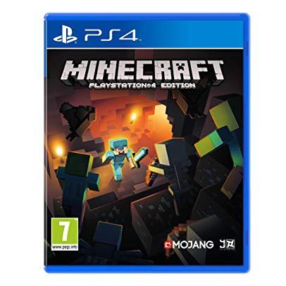 Minecraft Ps4 แผ่นแท้มือ1!!!!! (Ps4 games)(Ps4 game)(เกมส์ Ps.4)(แผ่นเกมส์Ps4)