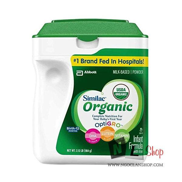 Sữa similac organic 964gr