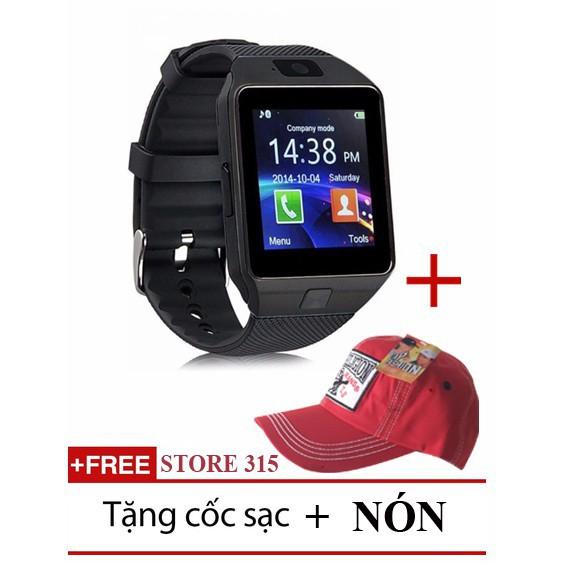 [Sb] Đồng hồ thông minh Smart Watch Uwatch DZ09- tặng Nón kaki sp mã WD7877