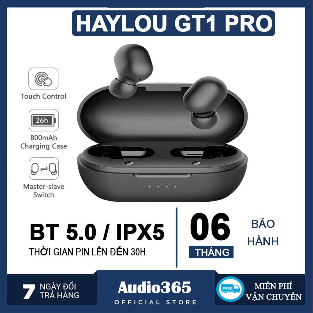 Tai Nghe Gaming nhét tai TWS Haylou GT1 Pro Bluetooth 5.0 Cảm Ứng Chống Nước IPX5 BH 6 tháng