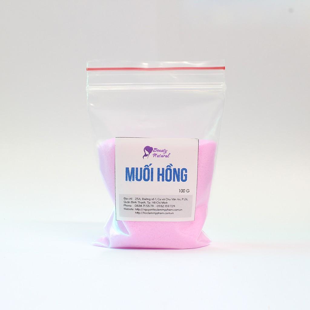 Muối hồng , nguyên liệu làm mỹ phẩm , muối tẩy tế vào chết giá rẻ