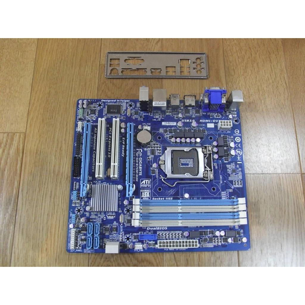 Main gigabyte B75M-D3H