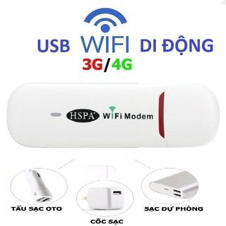 Usb Phát Sóng Wifi 3G 4G HSPA Phiên Bản Mới Chất Lượng Cao ISO 9001 thumbnail