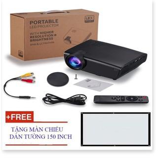 Máy chiếu W50 3D HD1080p SmartEco 40W hỗ trợ dạy học Tặng màn chiếu 150 inch – Phụ kiện CNS