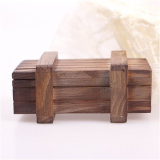 Magic Puzzle Box Intelligence Compartment Trick Wooden