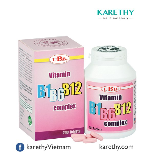 UBB® VITAMIN 3B: Cung Cấp Vitamin B1, B6 và B12 - 3502109 , 870914309 , 322_870914309 , 307000 , UBB-VITAMIN-3B-Cung-Cap-Vitamin-B1-B6-va-B12-322_870914309 , shopee.vn , UBB® VITAMIN 3B: Cung Cấp Vitamin B1, B6 và B12