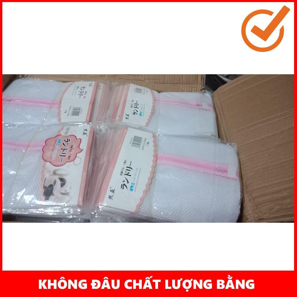 [FLASH SALE] Túi giặt quần áo màu trắng kt 50x60