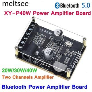 Bo Mạch Khuếch Đại Âm Thanh Bluetooth 5.0 40wx2 Dc 12 24v Xy-P40W thumbnail
