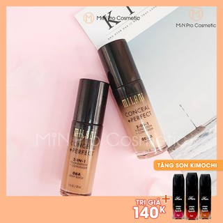 Kem nền Milani Conceal + Perfect 2in1 Foundation + Concealer