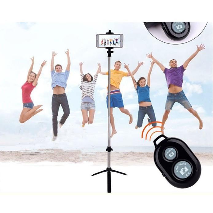 Gậy chụp ảnh Bluetooth có giá đỡ 3 chân - 2968791 , 1242337422 , 322_1242337422 , 99000 , Gay-chup-anh-Bluetooth-co-gia-do-3-chan-322_1242337422 , shopee.vn , Gậy chụp ảnh Bluetooth có giá đỡ 3 chân
