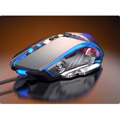 Chuột máy tính G3-SE với thiết kế ấn tượng, hiệu ứng LED 7 màu, DPI tùy chỉnh