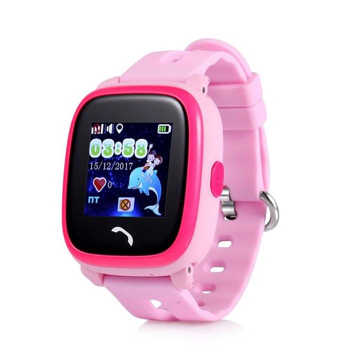 Đồng hồ định vị trẻ em GPS chống nước Wonlex GW400S Hồng