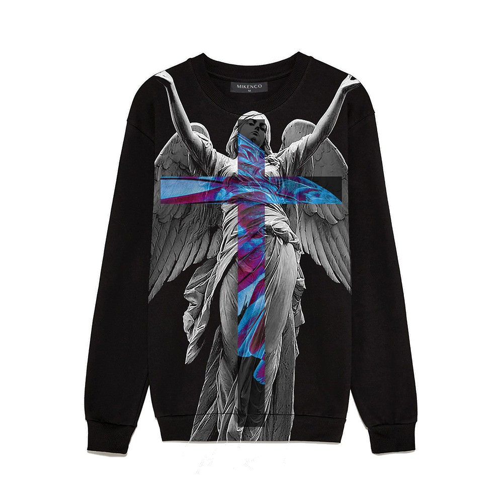 Áo sweater unisex MIKENCO Helen Angel Limited Edition