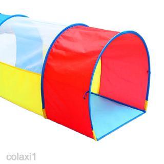 Pop up Play Tunnel Indoor & Outdoor Tube Tent for Kids Toddler Baby Children