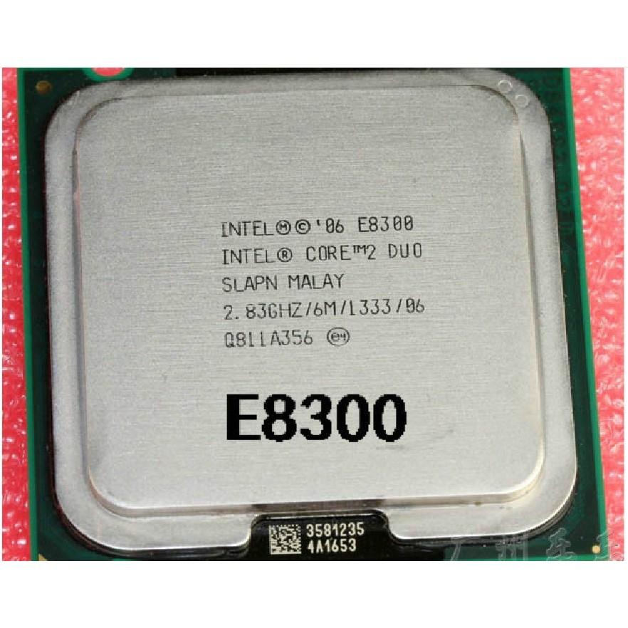Chip CPU E8300 bảo hành 12 tháng