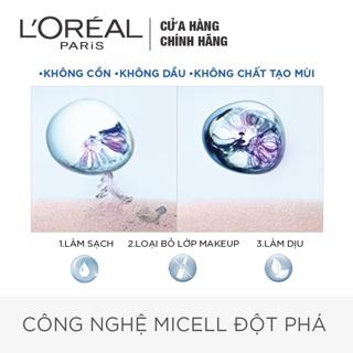 Hình ảnh Nước tẩy trang L'Oreal Paris 3-in-1 Micellar Water 400ml-3