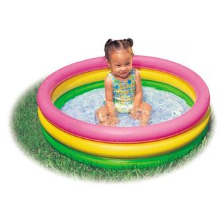 Hồ bơi Intex cho bé có thể tập bơi và làm quen với nước tại nhà(114x25cm)