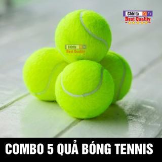 (Combo 5 Quả) Bóng Tennis Cũ CHIRITA VN