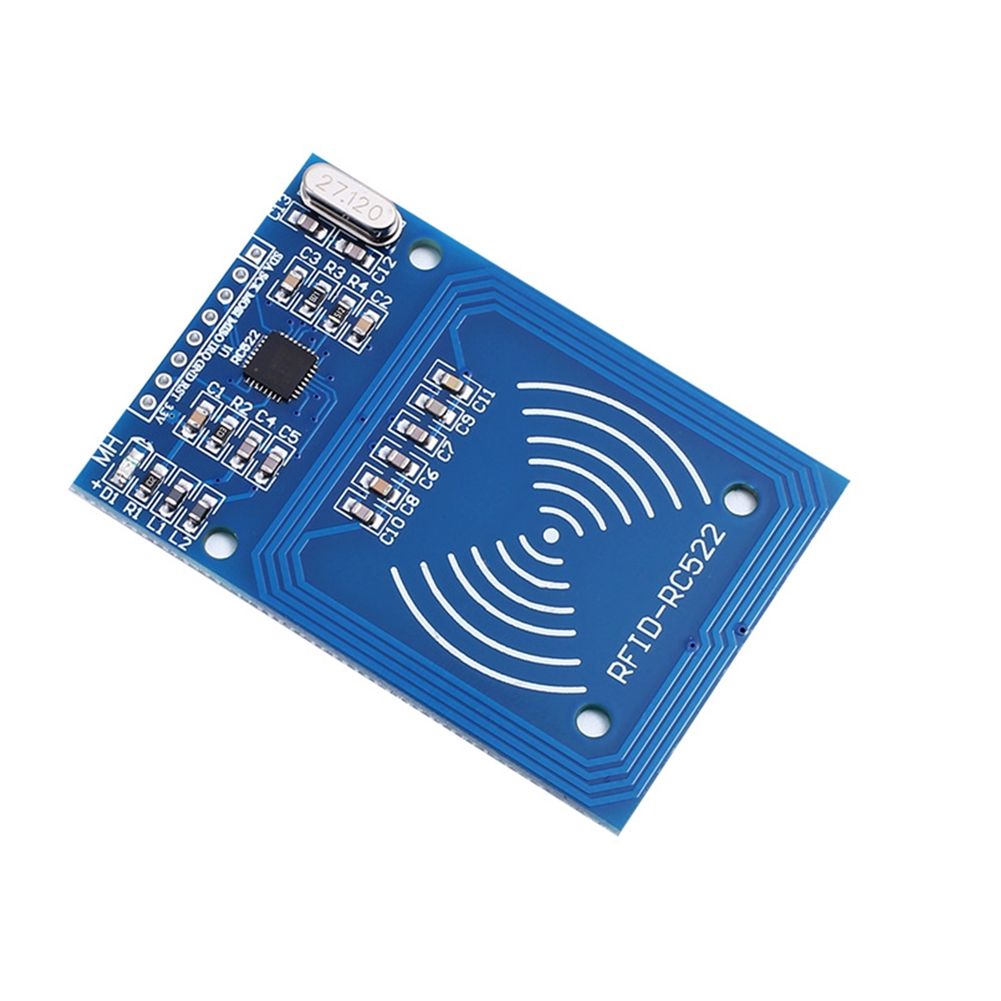 RFID RF Mini Accessories Device Development 13.56MHz MFRC-522 Detection IC Card Reader Module Set