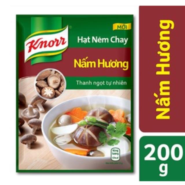 Hạt nêm Knorr Nấm hương gói 200g