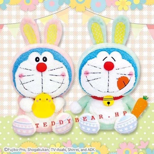 Gấu bông Doraemon thỏ 2019
